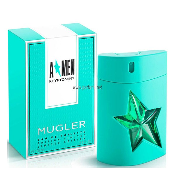 Thierry Mugler A*Men Kryptomint EDT парфюм за мъже - 100ml