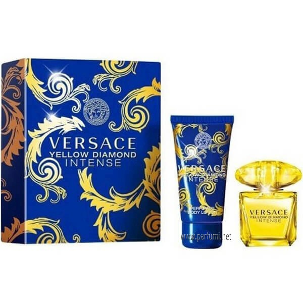 Versace Yellow Diamond Intense Комплект за жени-30EDP+50BL