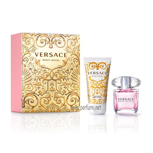 Versace Bright Crystal Комплект за жени 30ml EDT + 50ml Body Lotion