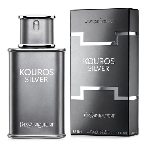 Yves Saint Laurent Kouros Silver EDT парфюм за мъже - 100ml.