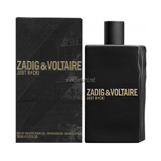Zadig&Voltaire Just Rock EDT за мъже - 100ml
