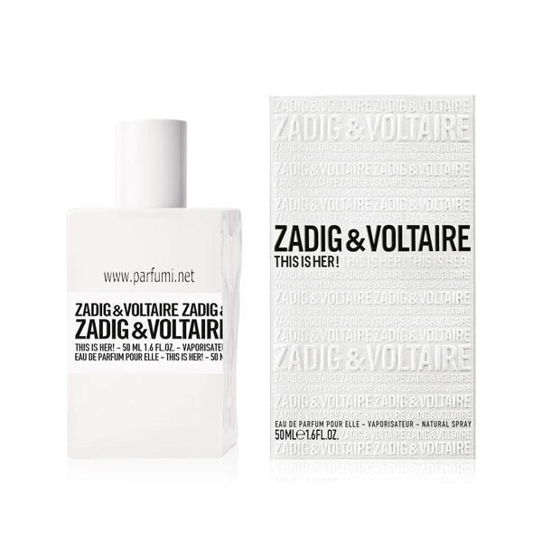 Zadig&Voltaire This is Her EDP парфюм за жени - 100ml
