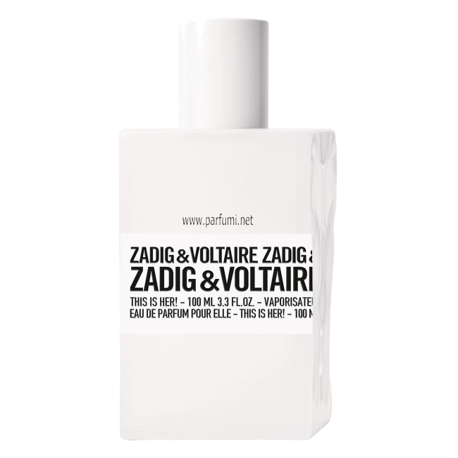 Zadig&Voltaire This is Her EDP парфюм за жени - без опаковка - 100ml