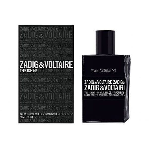Zadig&Voltaire This is Him EDT parfum for men - 30ml