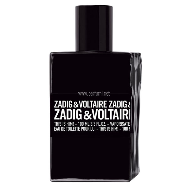 Zadig&Voltaire This is Him EDT parfum for men - without package - 100ml