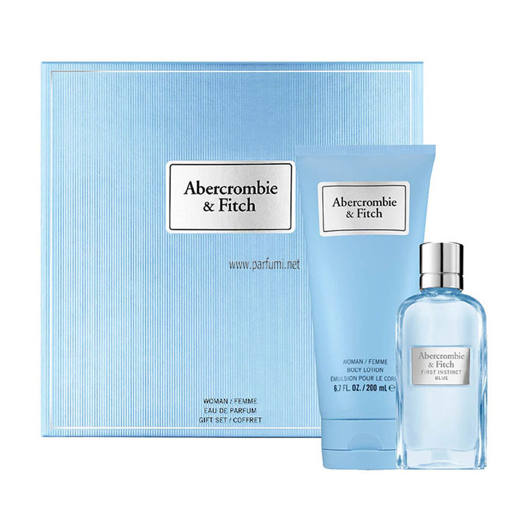 Abercrombie Fitch First Instinct Blue Set for women - 50m EDP+200ml Lotion