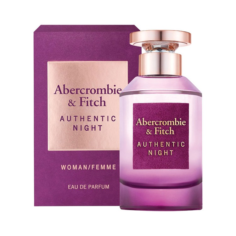 Abercrombie Fitch Authentic Night Woman EDP Parfum for women - 100ml