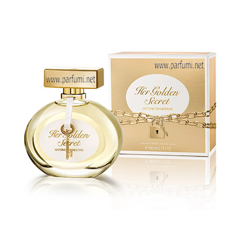 Antonio Banderas Her Golden Secret EDT за жени - 80ml