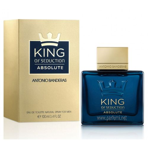 Antonio Banderas King Of Seduction Absolute EDT parfum for men - 100ml