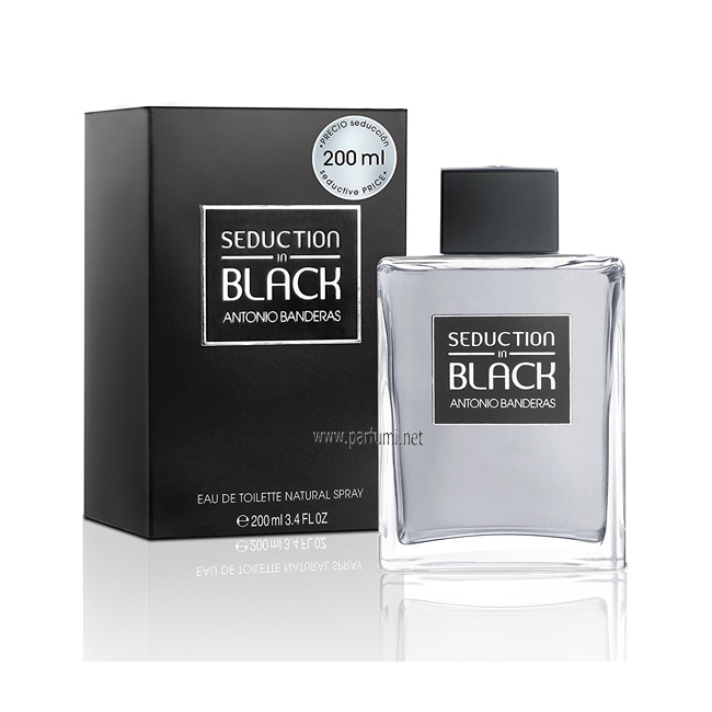 Antonio Banderas Seduction In Black EDT за мъже - 200ml