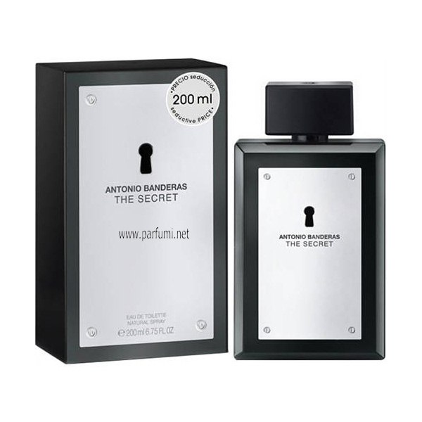 Antonio Banderas The Secret EDT парфюм за мъже - 200ml