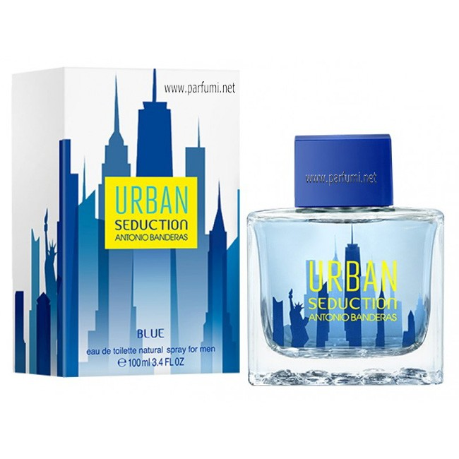 Antonio Banderas Urban Seduction Blue EDT парфюм за мъже - 100ml