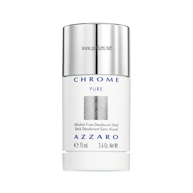 Azzaro Chrome Pure Deo stick for men - 75ml
