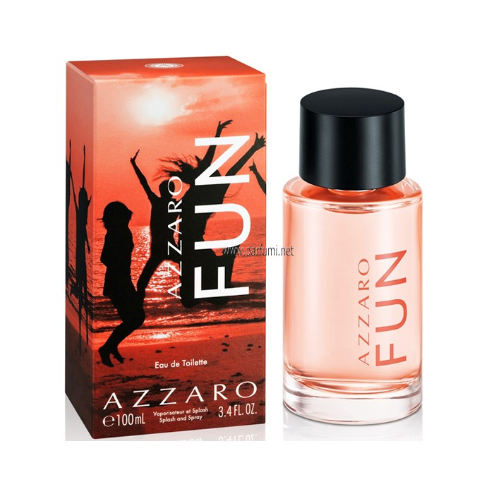 Azzaro Fun EDT unisex perfumes - 100ml