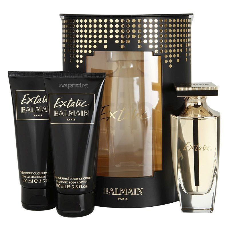 Balmain Extatic Set wof women - 90ml EDP+100ml BL+100ml SG