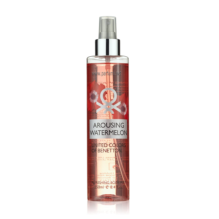 Benetton Освежаващ спрей Arousing Watermelon -250ml