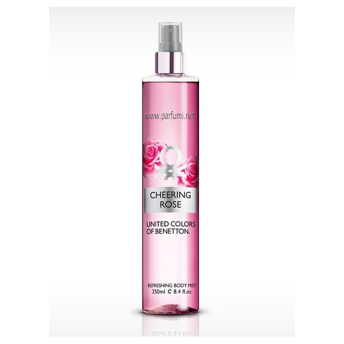 Benetton Body Mist Cheering Rose -250ml
