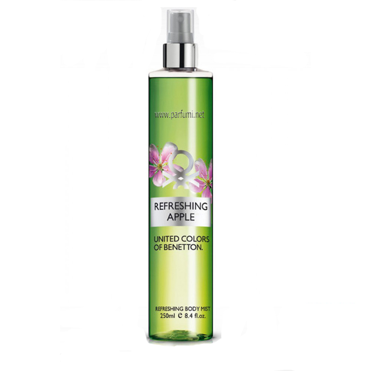 Benetton Body Mist Refreshing Apple -250ml