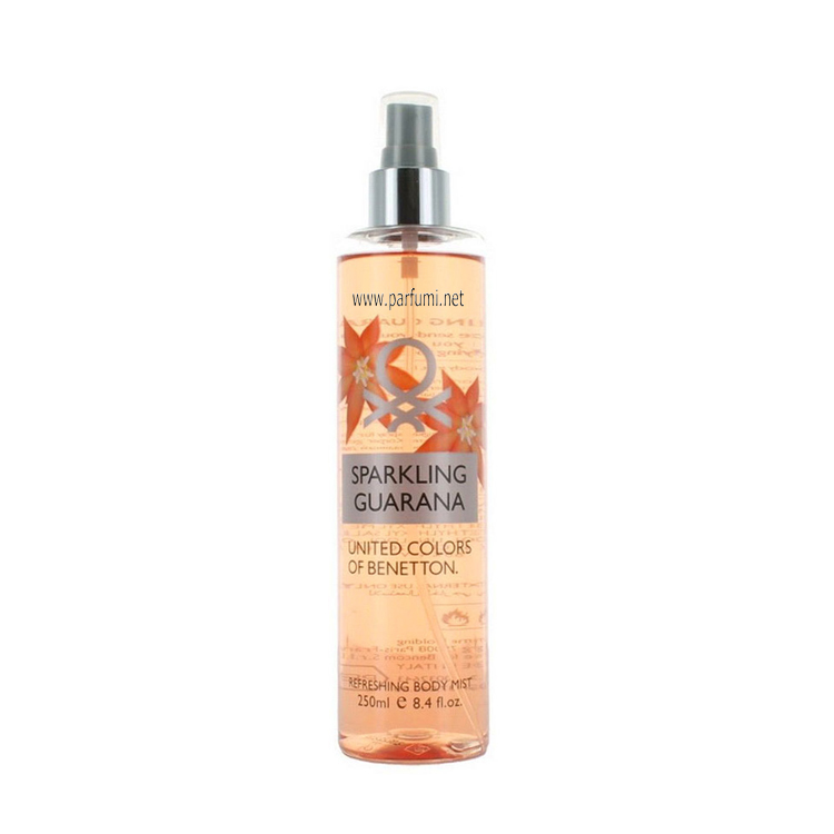 Benetton Body Mist Sparkling Guarana -250ml