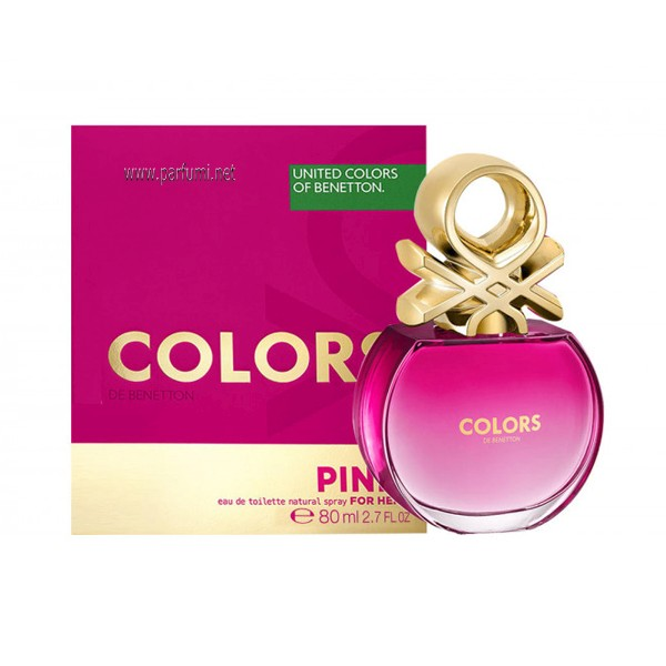 Benetton Colors de Benetton Pink EDT за жени - 80ml.