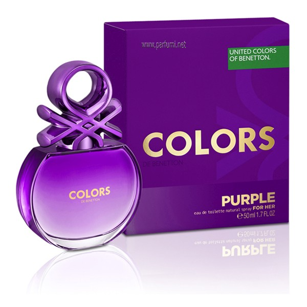Benetton Colors de Benetton Purple EDT за жени - 80ml.