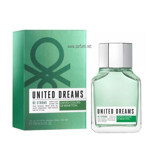 Benetton United Dreams Be Strong EDT за мъже - 100ml.