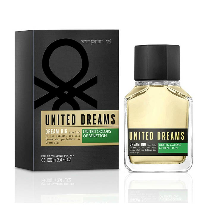 Benetton United Dreams Dream Big EDT за мъже - 100ml.