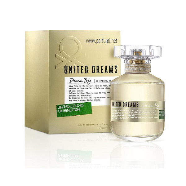 Benetton United Dreams Dream Big EDT парфюм за жени - 80ml.