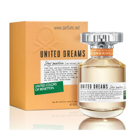 Benetton United Dreams Stay Positive EDT парфюм за жени - 80ml