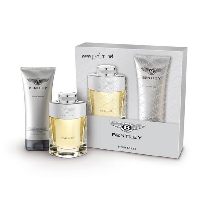 Bentley For Men Set for Men 100ml EDT + 200ml SG