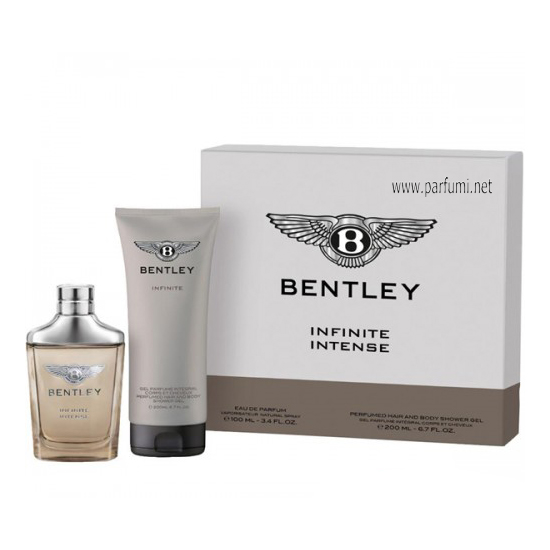 Bentley Infinite Intense Комплект за мъже 100ml EDP + 200ml Душ-гел
