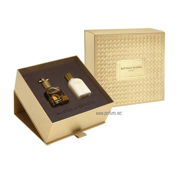 Bottega Veneta Knot Set for women - 50ml EDP+100ml BL