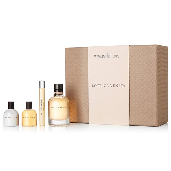 Bottega Veneta Set for women -75ml EDP+30BL+30SG+10ml EDP