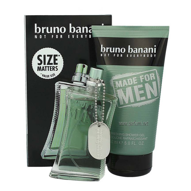 Bruno Banani Made for Men Комплект за мъже-50ml EDT +150ml SG
