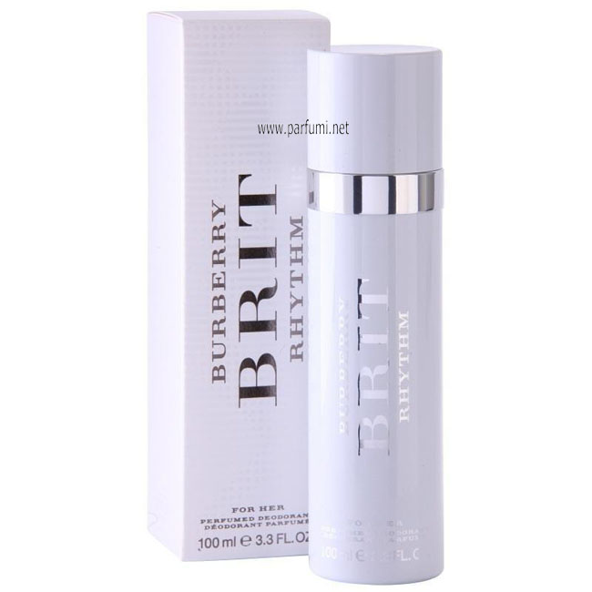 Burberry Brit Rhythm Deodorant Spray for women - 100ml