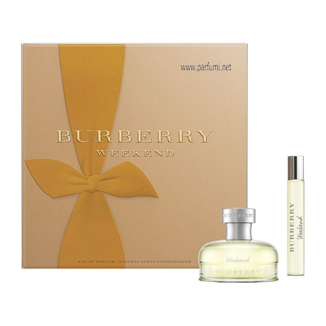 Burberry Weekend Set for women - 50ml EDP+7.5ml EDP.