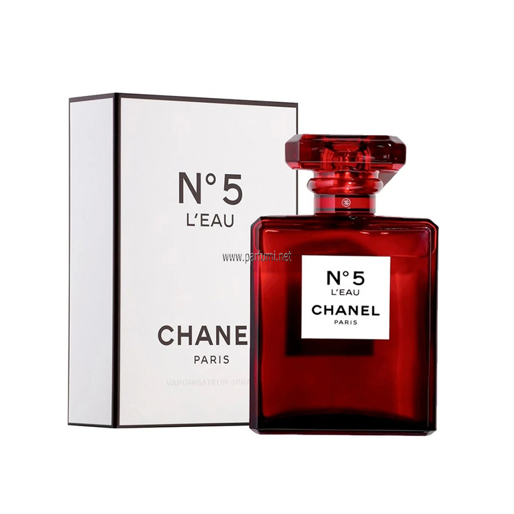 Chanel No.5 L`eau Red Edition EDT  за жени - 100ml