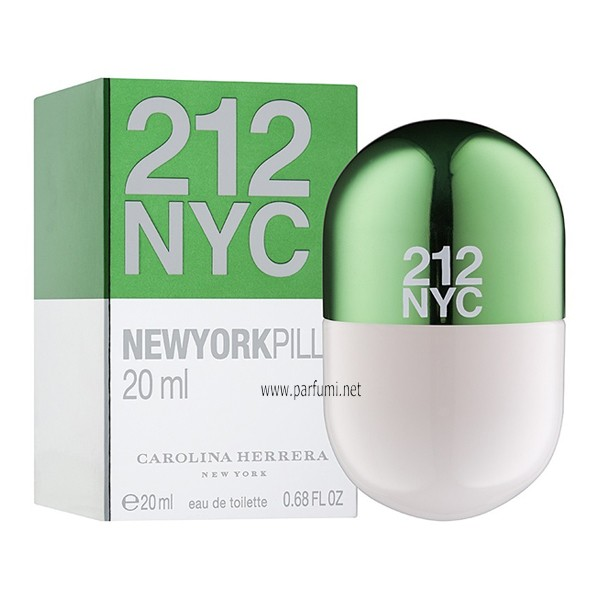Carolina Herrera 212 Pills EDT парфюм за жени - 20ml.