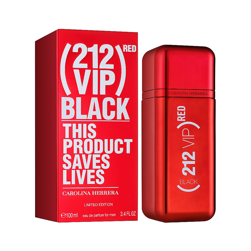 Carolina Herrera 212 VIP Black Red EDP парфюм за мъже - 100ml