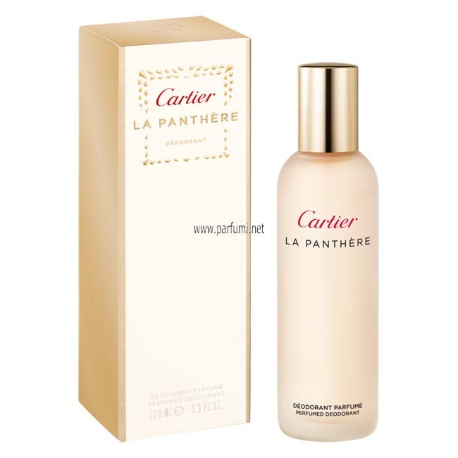 Cartier La Panthere Deodorant for women - 100ml