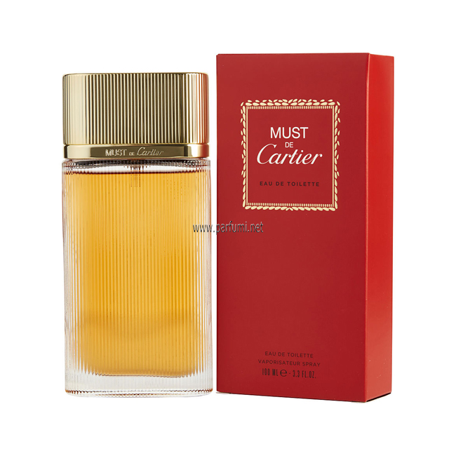 Cartier Must EDT parfum for women - 50ml.