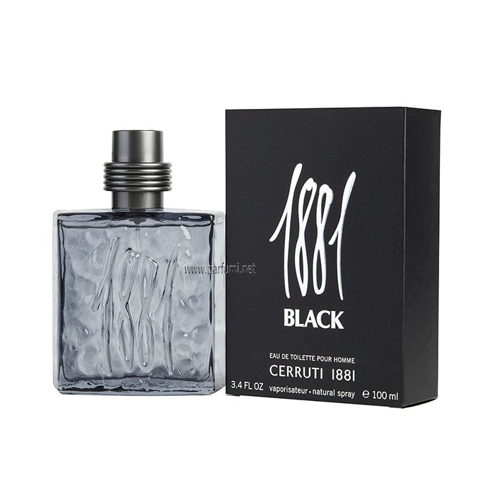 Cerruti 1881 Black EDT за мъже - 100ml