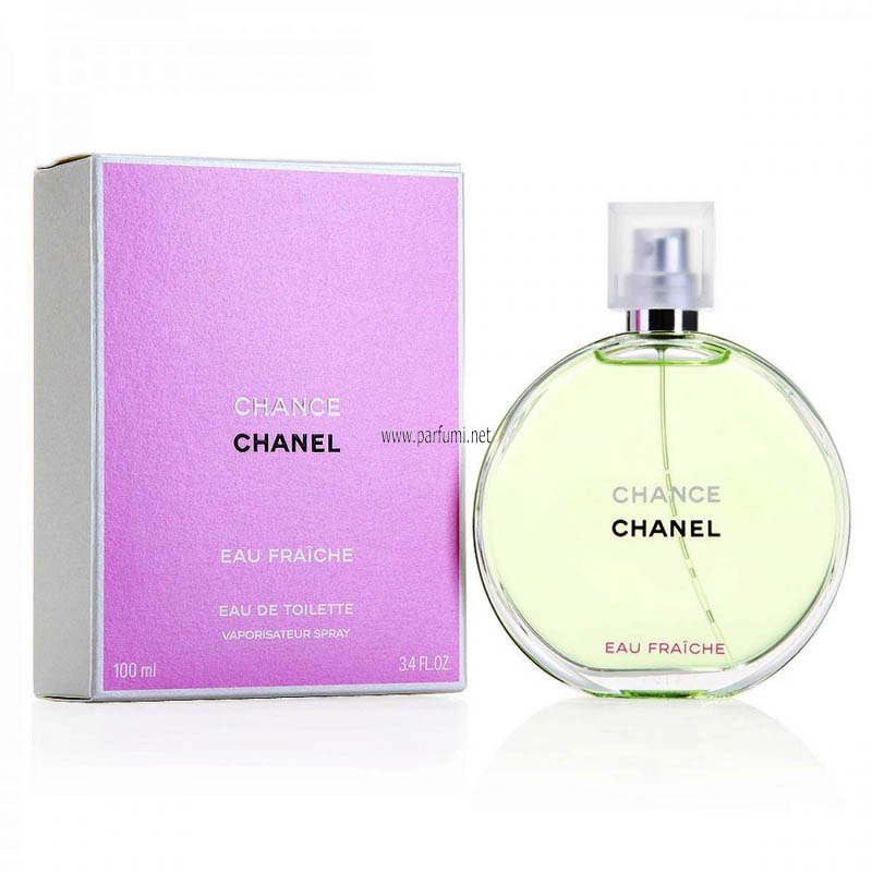 Chanel Chance Eau Fraiche EDT perfume for women - 100ml