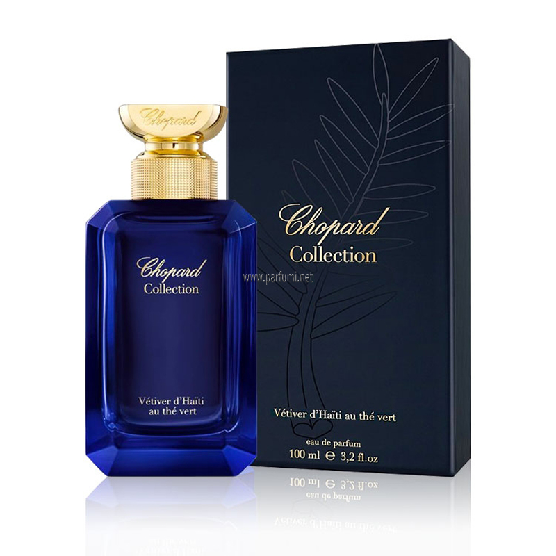 Chopard Collection Vetiver d`Haiti au The Vert EDP unisex parfum - 100ml
