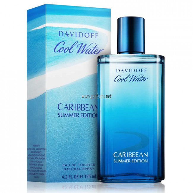 Davidoff Cool Water Caribbean EDT парфюм за мъже - 125ml