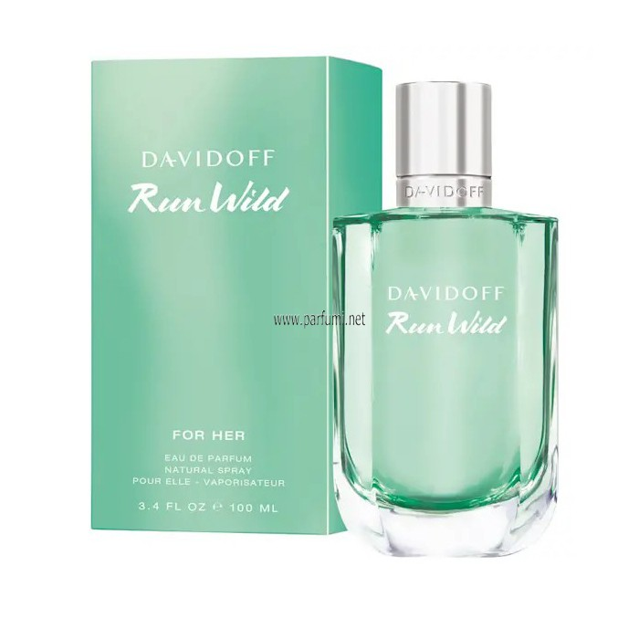 Davidoff Run Wild for Her EDP perfume for women - 50ml