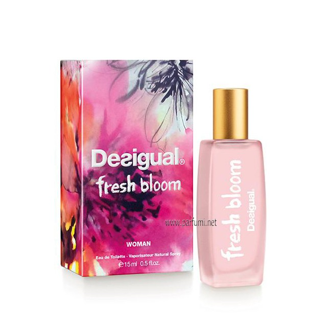 Desigual Fresh Bloom EDT parfum for women - 15ml