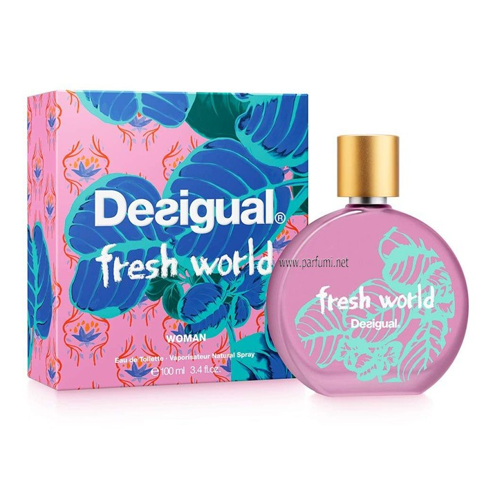 Desigual Fresh World EDT parfum for women - 100ml