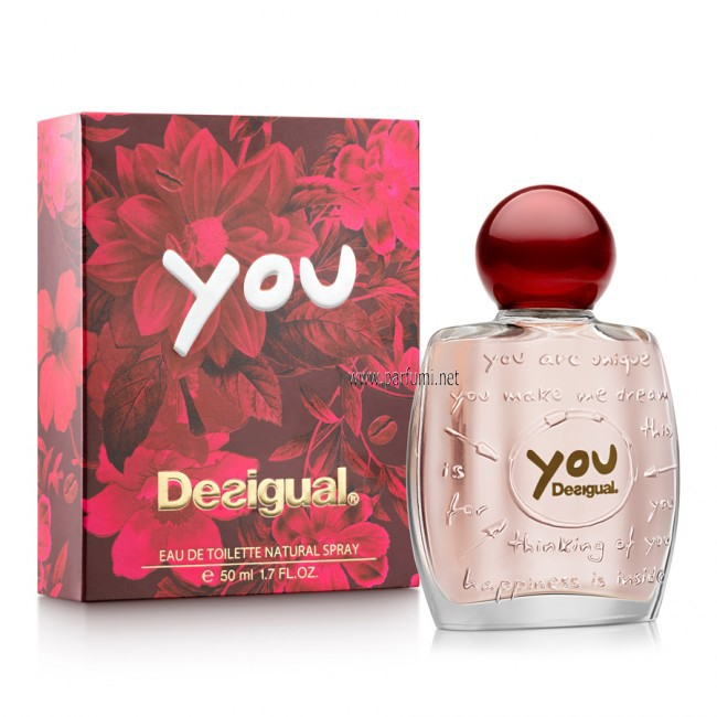 Desigual YOU EDT parfum for women - 100ml