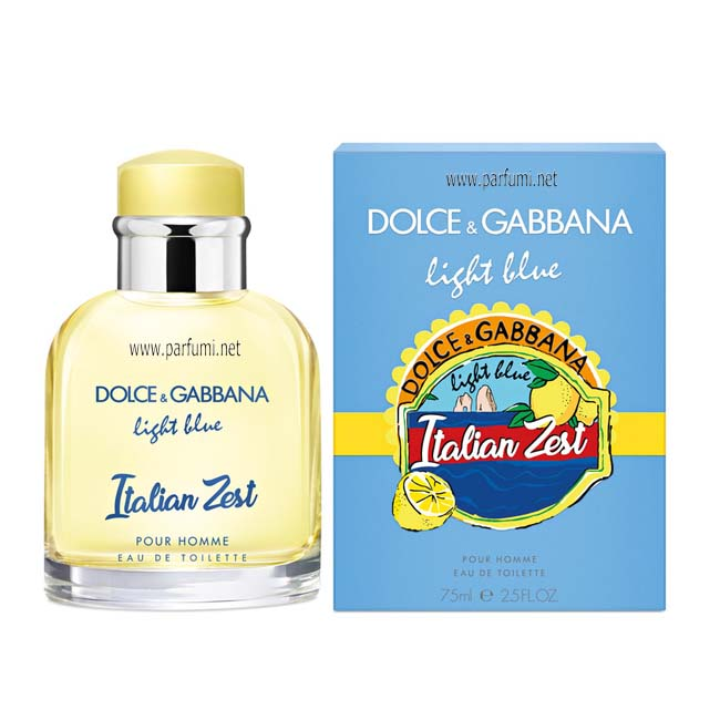 Dolce&Gabbana Light Blue Italian Zest EDT парфюм за мъже - 125ml